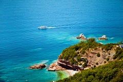 Vue de mer et de plage photo libre de droits
