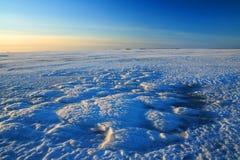 Vue de mer figée en Finlande Photo libre de droits