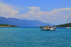 Vue de mer Marmaris La Turquie Images stock