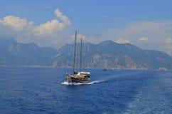 Vue de mer Marmaris La Turquie Image libre de droits