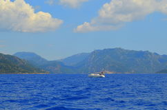 Vue de mer Marmaris La Turquie Photographie stock libre de droits