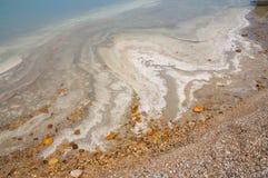 Vue de mer morte Photo libre de droits
