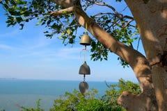 Vue de mer, océan bleu, Thaïlande Photo stock