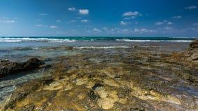 Vue de mer Panorama de mer et de ciel Idylle de mer Photo stock