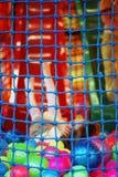 Vue de mer par le réseau Images stock