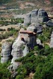 Vue de Meteora Photographie stock