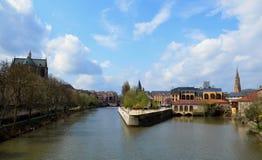 Vue de Metz Image libre de droits