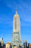 Vue de Midtown de New York City Manhattan avec l'Empire State Building, NYC Photo libre de droits