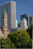 Vue de Midtown, Manhattan, Central Park du sud-est Image libre de droits
