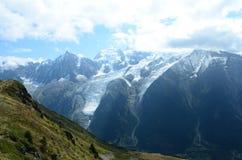 Vue de Mont Blanc Photographie stock libre de droits