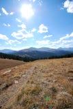 Vue de montagne de Baldy, près de Breckenridge, Co Images libres de droits