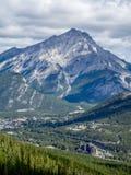 Vue de montagne de soufre Photographie stock