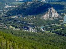 Vue de montagne de soufre Photo stock