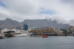 Vue de montagne de Tableau du bord de mer de V&A Photo stock