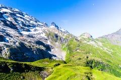 Vue de montagne de Titlis Photographie stock