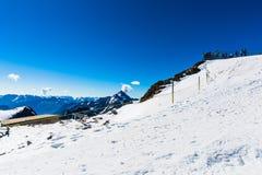 Vue de montagne de Titlis Photo libre de droits