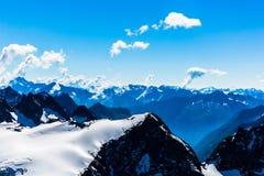 Vue de montagne de Titlis Photographie stock libre de droits