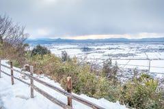 Vue de montagne de Hachiman images libres de droits