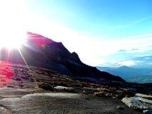 Vue de montagne de Kinabalu au Bornéo Malaisie Photographie stock