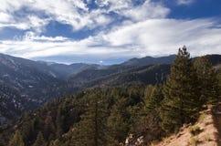 Vue de montagne le Colorado de Cheyanne Image stock
