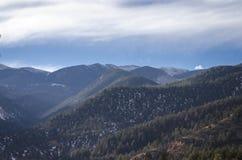 Vue de montagne le Colorado de Cheyanne Photographie stock
