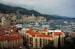 Vue de Monte Carlo Photo libre de droits