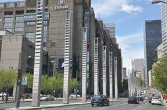 Vue de Montréal du centre Photographie stock libre de droits