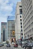 Vue de Montréal du centre Photos libres de droits