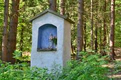 Vue de monument religieux historique La Bohême du sud Photos stock