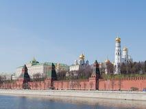 Vue de Moscou Kremlin photographie stock libre de droits
