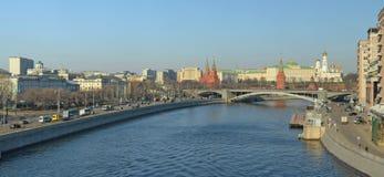 Vue de Moscou Kremlin photos libres de droits