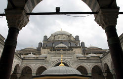Vue de mosquée de Bayezid, Istanbul photos libres de droits