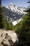 Vue de Mountai Images libres de droits