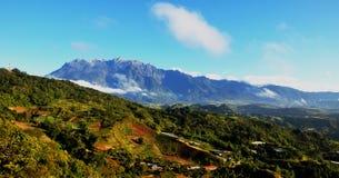 Vue de Mt. Kinabalu de kundasang Images stock
