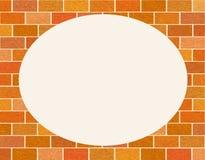 Vue de mur de briques avec la texture rayée, grunge, brique des briques rouges ordinaires illustration stock