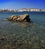 Vue de Mykonos, Grèce Photos libres de droits