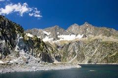 Vue de nature dans Pyrénées français Photo stock