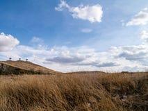 Vue de nature en Espagne Consuegra Image stock