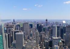 Vue de New York Image libre de droits
