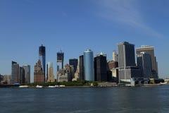 Vue de New York City, Etats-Unis Photographie stock libre de droits