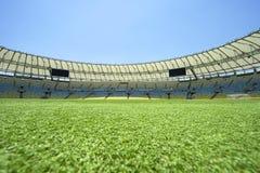 Vue de niveau de lancement de stade de football de Maracana Photo libre de droits
