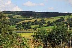 Vue de North Yorkshire Images libres de droits