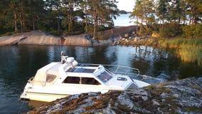 Vue de notre archipel et de sa belle nature de elle Photos libres de droits