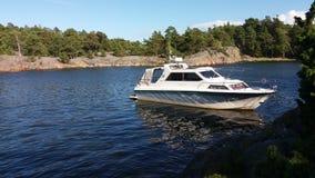 Vue de notre archipel et de sa belle nature de elle Photo libre de droits
