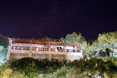 Vue de nuit à l'hôtel Turquie Photos stock