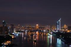Vue de nuit Images stock