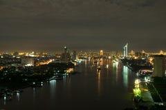 Vue de nuit Image stock