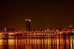 Vue de nuit Photos stock