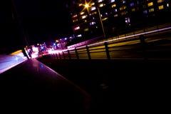 Vue de nuit au Japon Image libre de droits