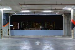 Vue de nuit de banlieues Photo libre de droits